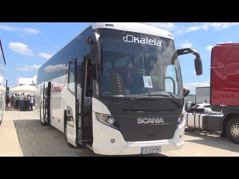 Scania Touring Euro 6 Bus (2016) Exterior and Interior in 3D