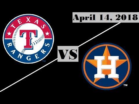Texas Rangers vs Houston Astros