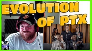 Pentatonix Evolution Of Ariana Grande Reaction