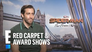 """Jake Gyllenhaal Talks First Day on """"Spider-Man: Far From Home""""   E! Red Carpet & Award Shows"""