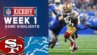 49ers vs. Lions Week 1 Highlights | NFL 2021