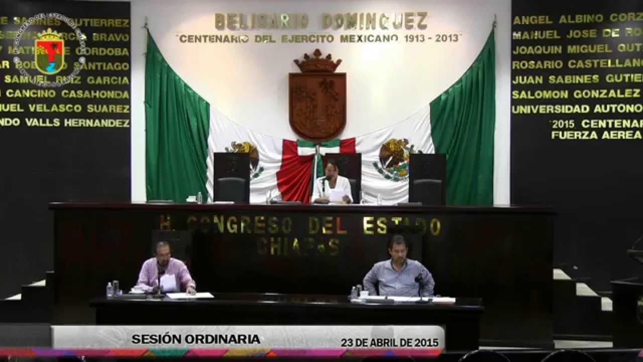 Sesión Ordinaria 23 de Abril de 2015