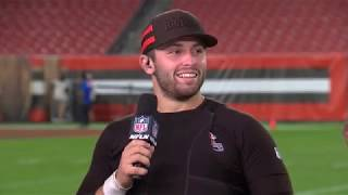 """Baker Mayfield on Leading the Browns to First Win in 635 Days, """"This is How my Whole Life Has Gone"""""""