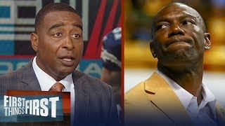 Cris Carter reacts to T.O.'s Hall of Fame speech | NFL | FIRST THINGS FIRST