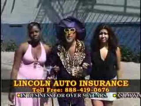 Linoln Auto Insurance Commercial