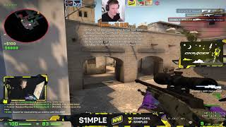 S1mple Plays Faceit 20181120
