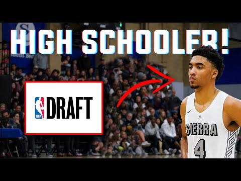 Meet The HIGH SCHOOLER Drafted Into The NBA - Kenyon Martin Jr.