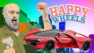 CRASHING NICE CARS | Happy Wheels Part 4