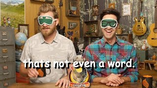 rhett and link trying to speak for 4 minutes straight