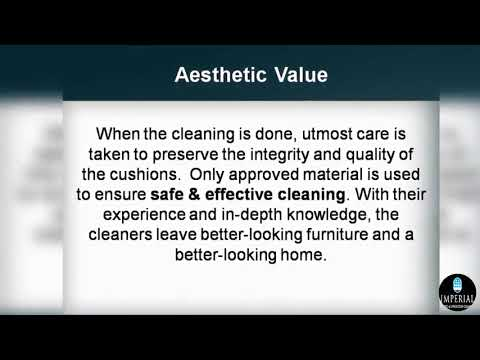 Why Should You Look For Upholstery Cleaning Services?