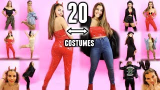 20 HALLOWEEN COSTUMES YOU CAN WEAR AFTER HALLOWEEN!🎃 Lazy 2018 costume ideas to save money!