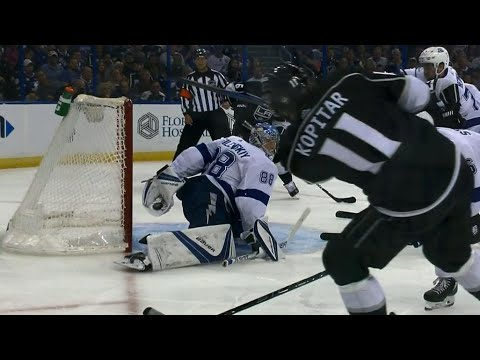 Lightning's Vasilevskiy has potential save-of-the-year candidate against Kings