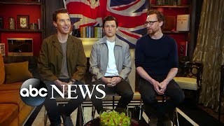 Benedict Cumberbatch, Tom Hiddleston and Tom Holland dish on 'Avengers: Infinity War'
