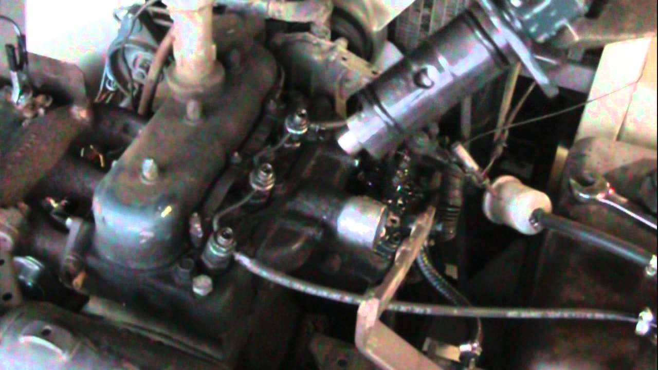 Diesel In Oil Kubota V1505 Engine Maintenance Help