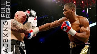 Full Fight | Anthony Joshua Vs Paul Butlin TKO