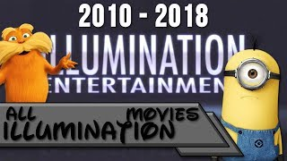 All Illumination Entertainment Movies 2010-2018