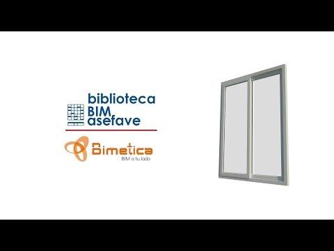 Ventanas BIM ASEFAVE -- Revit Tutorial | Bimetica.com