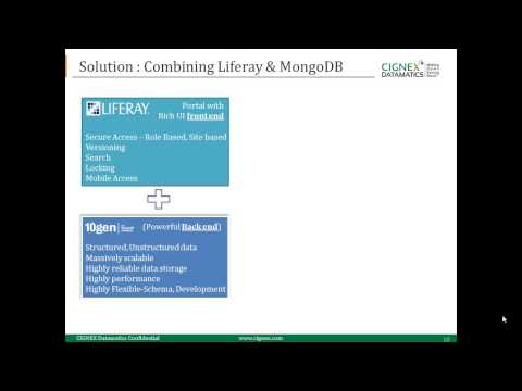 Webinar 16 June, 2014: Big Data Portal with Liferay & MongoDB