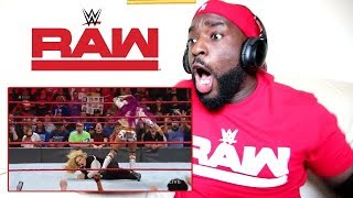 Sasha Banks returns to WWE!!!!! | RAW | REACTION