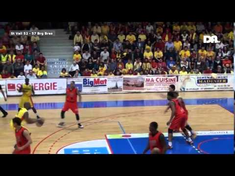 Basket SaintVallier vs BourgEnBresse