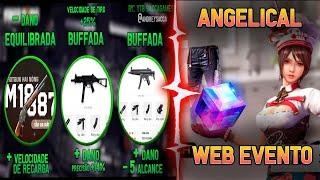 NOVO WEB EVENTO COM CALÇA ANGELICAL E CUBO! E MUDANÇAS NAS ARMAS NA PRÓXIMA ATUALIZAÇÃO!!!