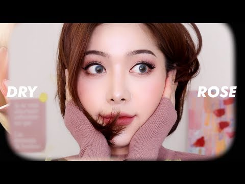 (eng)🌹MLBB 말린장미 메이크업 (feat.말많음👄) DRY ROSE makeup