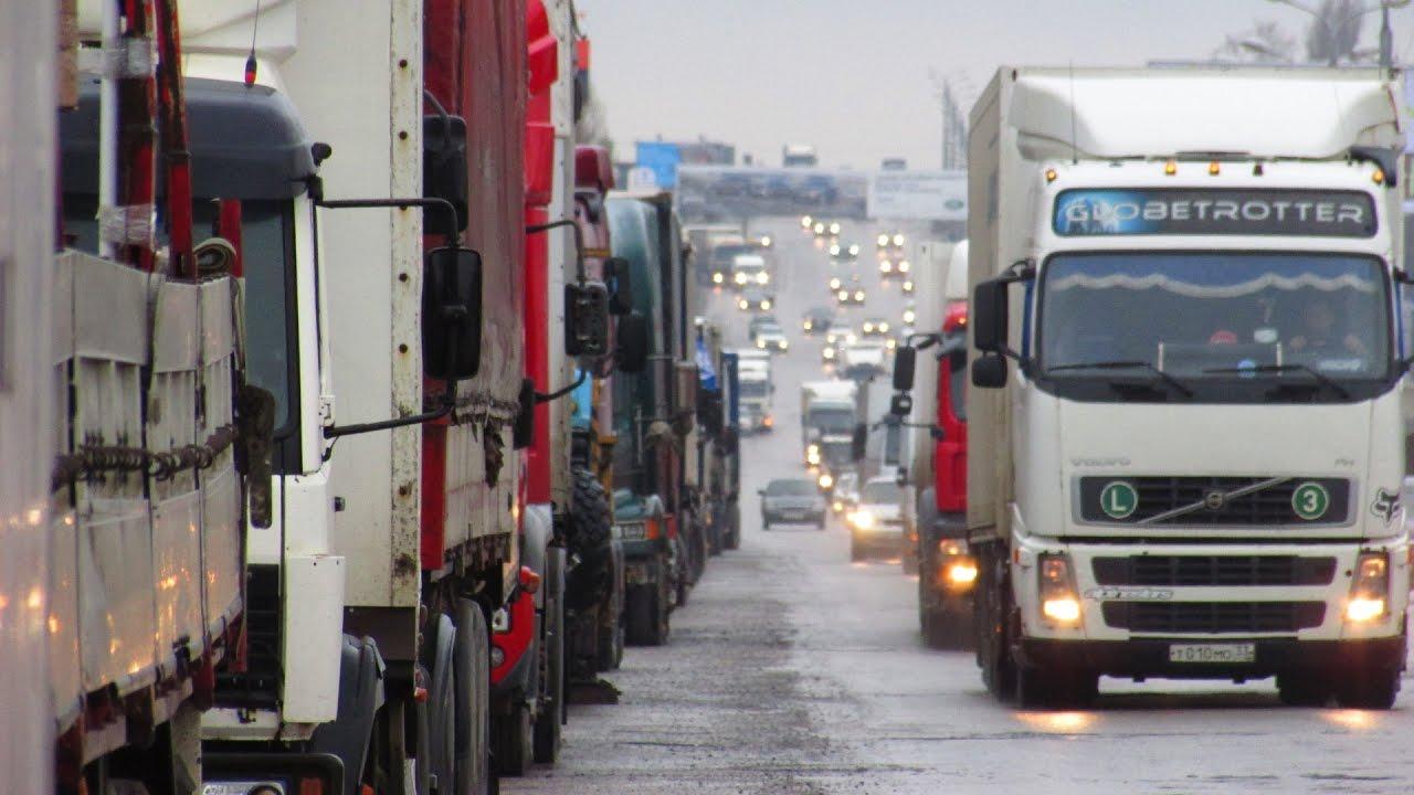 Дальнобойщики Волгограда продолжают бессрочную забастовку