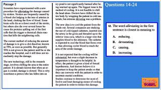 TOEFL Reading Full Practice Test 5 with Answers and Explanations.