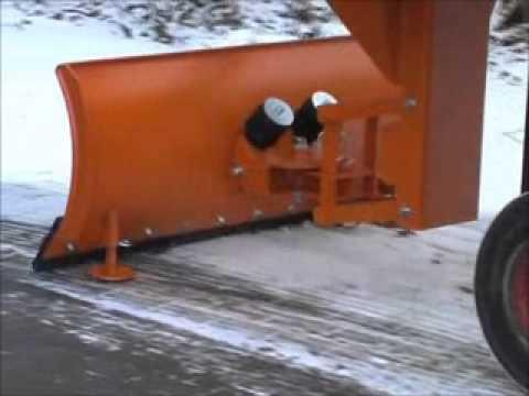 Lame chasse neige pour terrain accidenté - Axess-industries