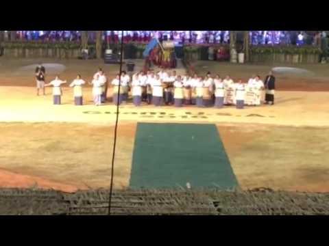 Tonga enters Festpac opening in Guam