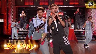 Uptown Girl - Opening Performance   Boy Band