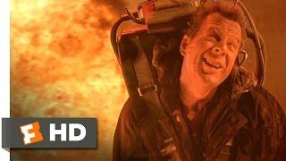 Die Hard 2 (1990) - Military Funeral Scene (2/5) | Movieclips