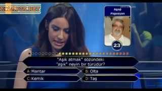 Kim Milyoner Olmak Ister 247. bölüm Loura Papazyan 02.07.2013