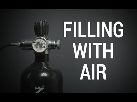 Benjamin Pioneer Airbow How To, Chapter 3 - Filling With Air