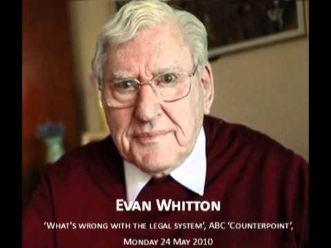 Evan Whitton: Australian legal system made for lawyers and rich criminals