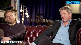 Hugh Grant & Charlie Hunnam Explain the Importance of a Good Scene Partner