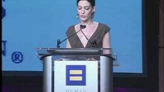 Anne Hathaway at 2008 HRC Los Angeles Dinner