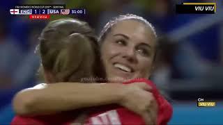 [ Semi - Final ] USA vs England 2-1 All Goals & Highlights   2019 WWC