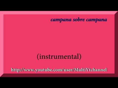Campana sobre campana - Villancico - Christmas - Flauta dulce notas - Partitura - Recorder - Score