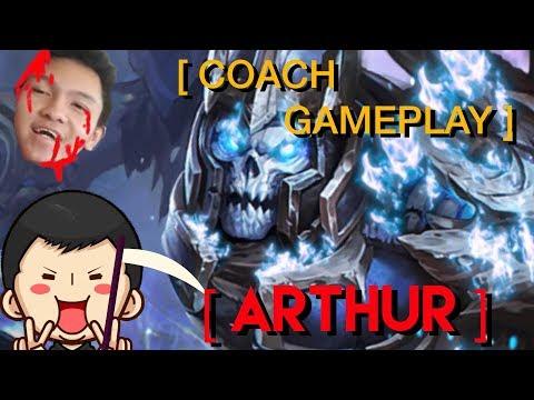 [ Coach Gameplay ] EVOS Wiraww, Tercincang oleh ARTHUR EVOS Carraway! Feat. EJ Gaming & MythR