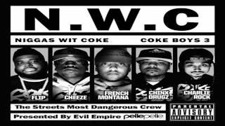 French Montana - Burnin Ft. Chinx Drugz, Akon & Kevin Gates (Coke Boys 3)