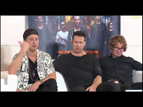 OneRepublic live @ QQ Music (part 1): talking about China, touring & food