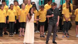 HOLD BACK THE RIVER - SUNG BY JANAYAH AND BEN AND APPA CHOIR