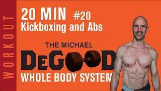 TRAIN DIRTY ~ 20 minute Kickboxing~ABS!! Beginner Kickboxing 👊