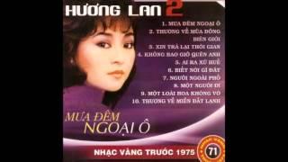 Album Mưa Đêm Ngoại Ô   Hương Lan