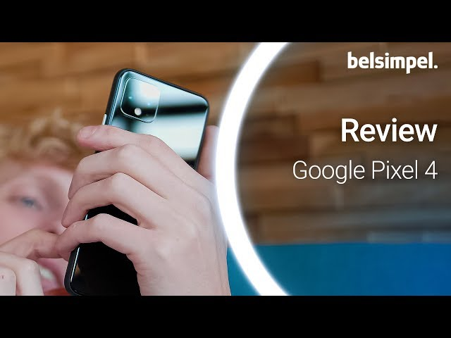 Belsimpel-productvideo voor de Google Pixel 4 XL 64GB Black