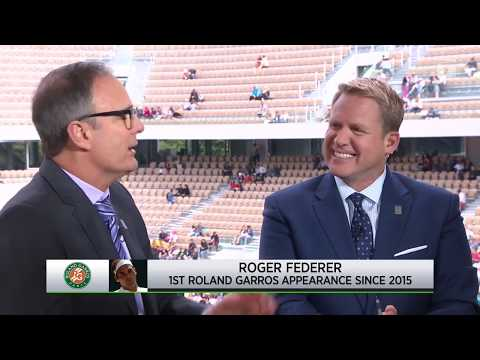 Tennis Channel Live: Roger Federer Returns To Roland Garros For First Time Since 2015