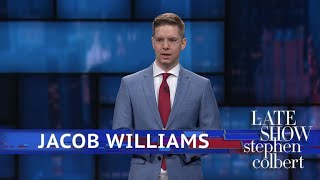 Comedian Jacob Williams Makes His Late Show Debut