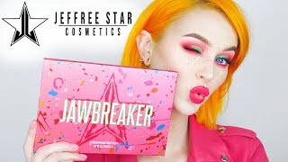 Trying Out Jawbreaker Palette by Jeffree Star Cosmetics | Evelina Forsell