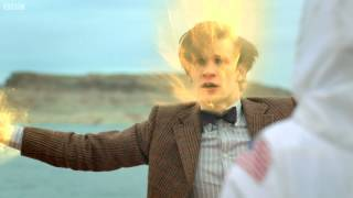 The Doctor Dies During Regeneration!   The Impossible Astronaut   Doctor Who   BBC